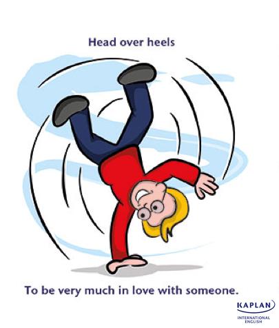 IDIOMS: Head over heels