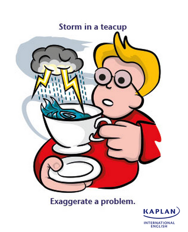 IDIOMS: Storm in a teacup