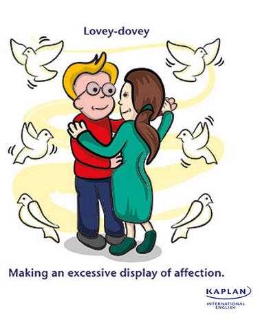 IDIOMS: Lovey dovey
