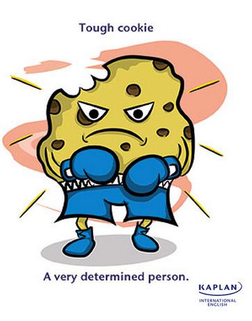 Idioms: Tough Cookie