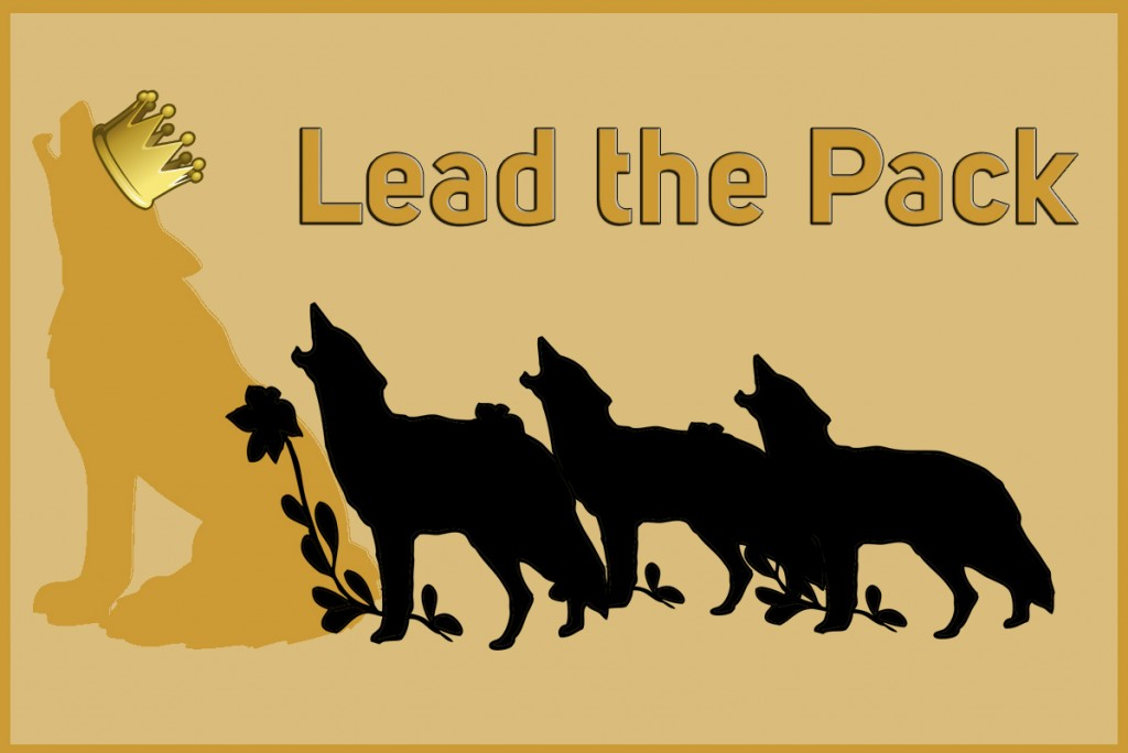 Idioms: Lead the pack
