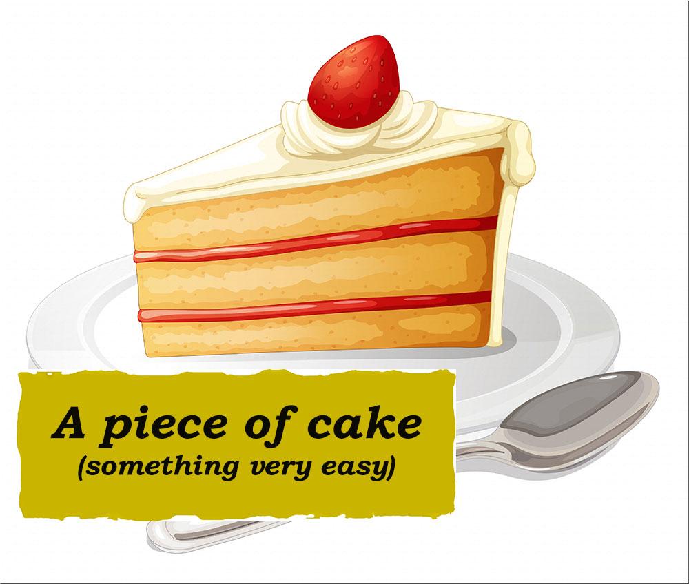 Idioms: A piece of cake