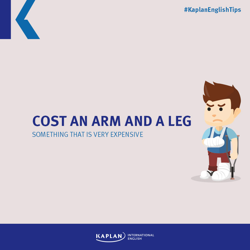 Idioms: Cost an arm and a leg