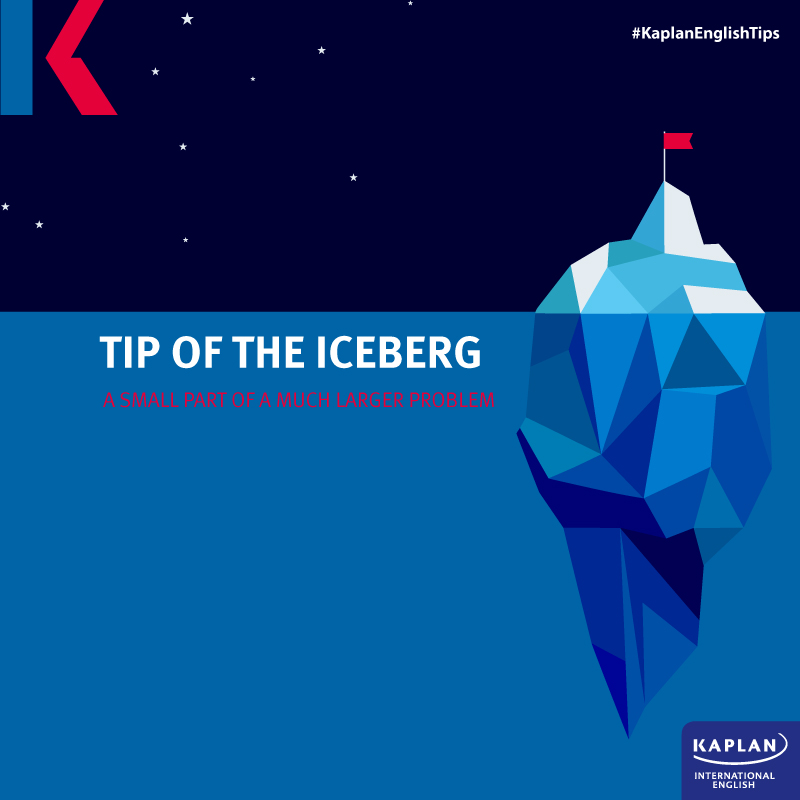Idioms: The tip of the iceberg