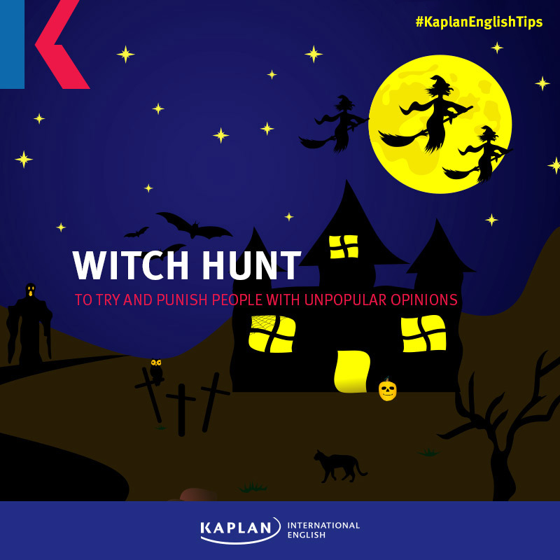 Idioms: Witch hunt