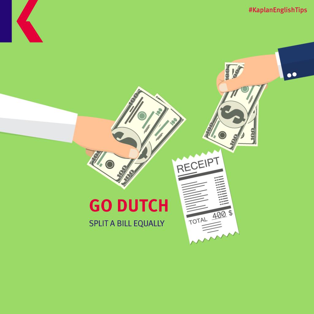 Idioms: To go Dutch