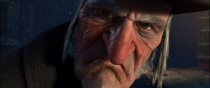 Jim Carrey as Ebeneezer Scrooge In A Christmas Carol main image