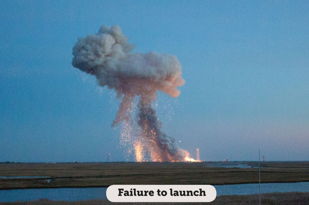 Idioms: Failure to launch