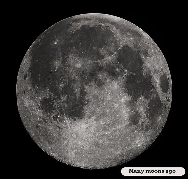 Idioms: Many moons ago