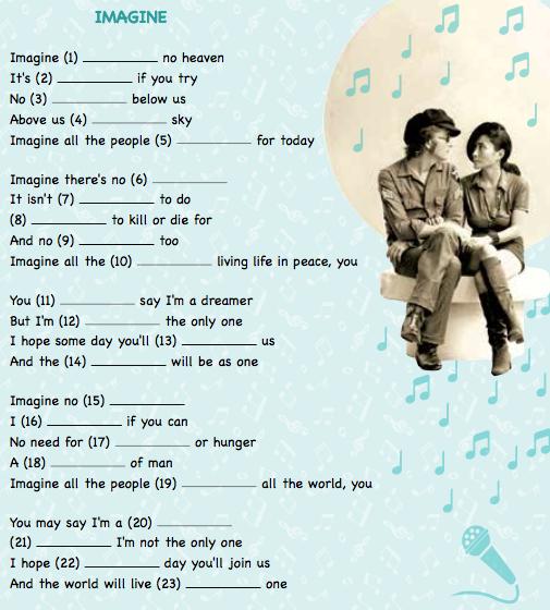 SONG – IMAGINE