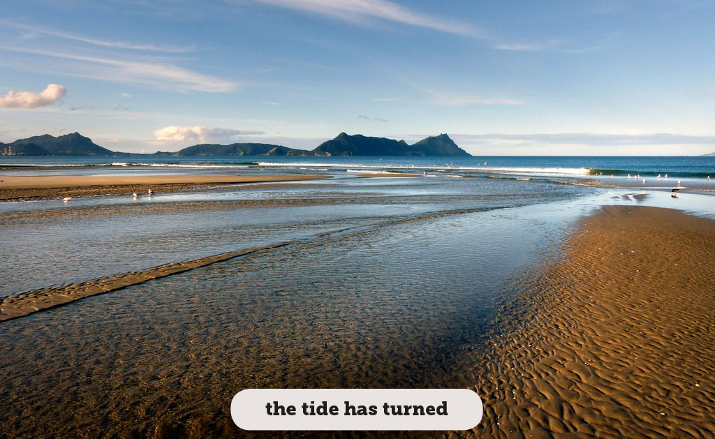 Idioms: The tide has turned
