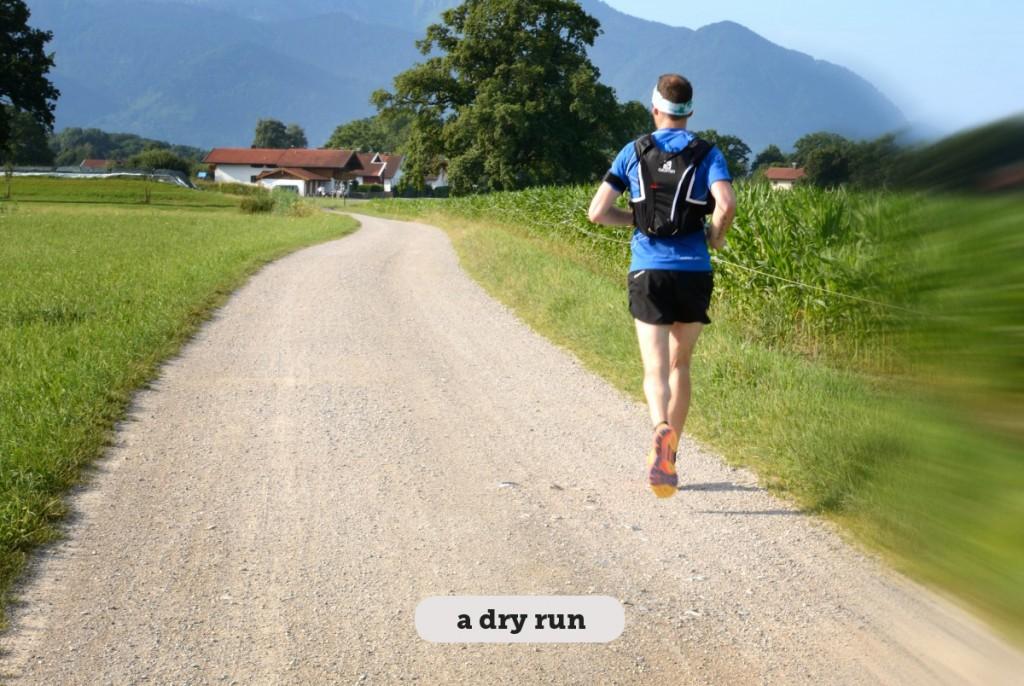 Idioms: A dry run/a dummy run