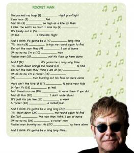 Rocket Man_Elton John