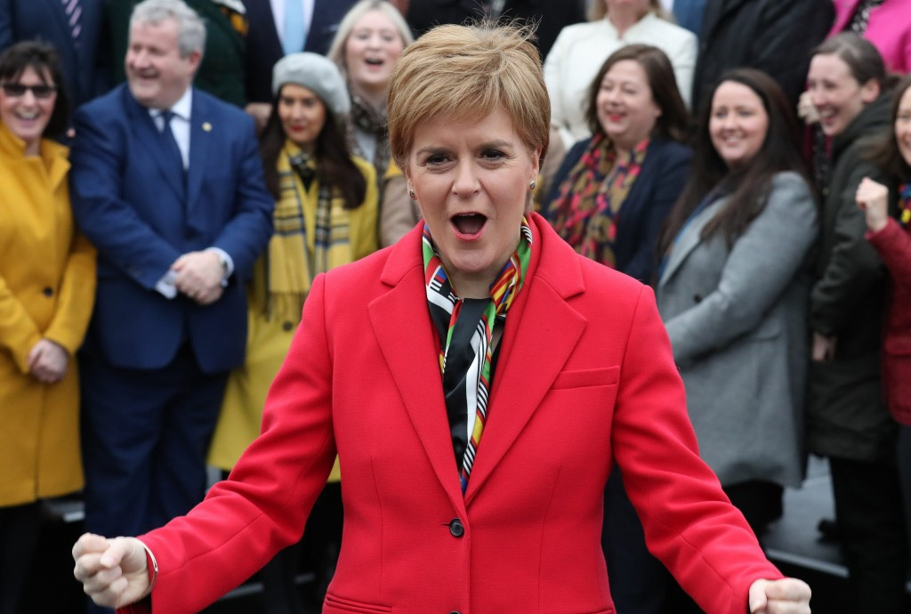 LISTENING COMPREHENSION – NICOLA STURGEON