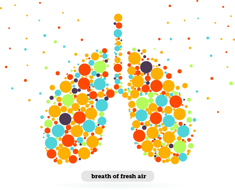 Idioms: Breath of fresh air