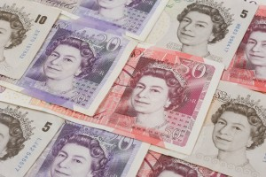 Pound sterling note