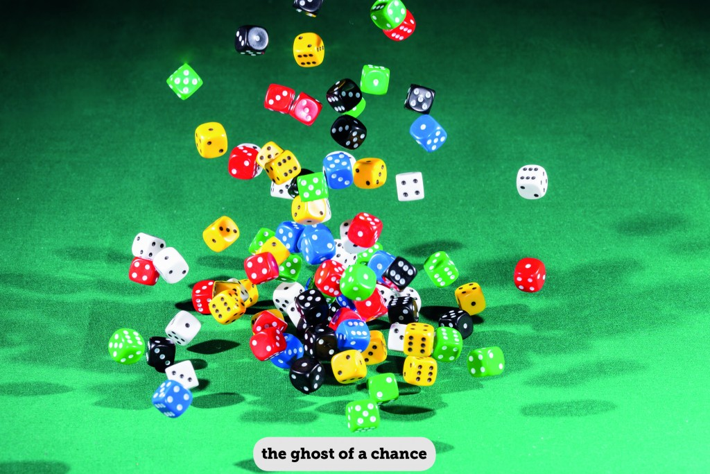 IDIOMS: THE GHOST OF A CHANCE